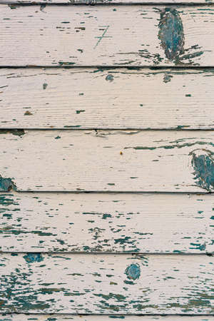 in particular: Wood texture and trace of painting in beach cabanas