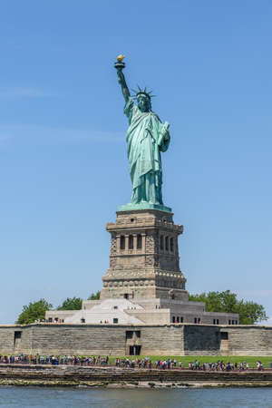 One of the USA symbols:  Statue of Liberty in New York City Editorial