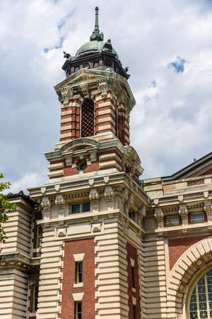 The Immigrant museum sited on Ellis Island, gateway for over 12 immigrants to the Usa Stock fotó - 93245481
