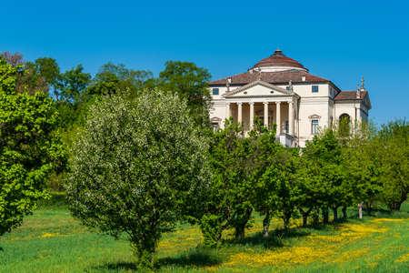 Neoclassical Villa Capra, called La Rotonda, designed by Andrea Palladio
