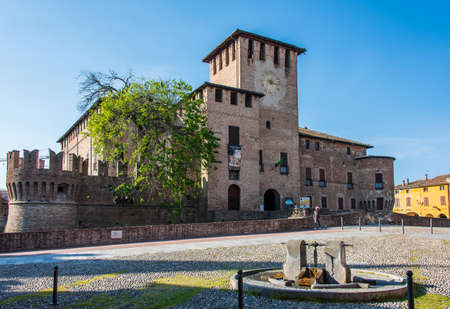 Sanvitale Castle is a fortress situated in the old town of Fontanellato