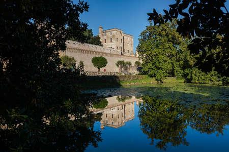 Castello del Catajo is a patrician rural palace near the town of Battaglia Terme, province of Padua