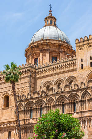 Dome of the Palermo Cathedral is the cathedral church of the Roman Catholic Archdiocese of Palermo, located in Palermo, Sicily, southern Italy. It is dedicated to the Assumption of the Virgin Mary