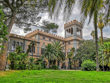 Villa Figoli, old villa in the italian riviera village of Arenzano, near Genoa