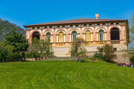 The Villa dei Vescovi is a renaissance-style, rural palatial home built for the archbishops of Padua