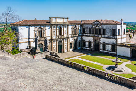 Villa Duodo, also known as the Villa Valier, is a villa situated at Monselice near Padua in the Veneto, northern Italy and it is attributed to the architect Vincenzo Scamozzi
