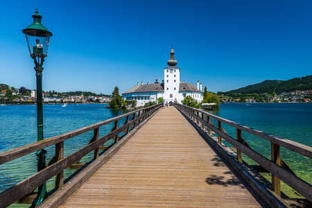 Schloss Ort (or Schloss Orth) is an Austrian castle situated in the Traunsee lake, in Gmunden foudend around 1080