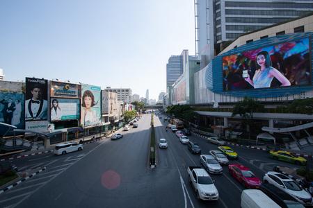 Bangkok Thailand - Nov 1,2018: MBK center popular landmark traveller