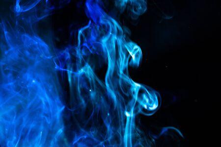 blur blue smoke abstract texture backgroundblur blue smoke abstract texture background Stock Photo