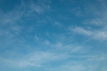 white cloudy on blue sky
