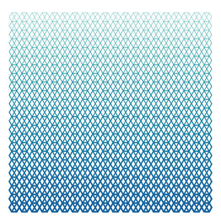 sports Halftone hexagon pattern in bright colors or technology halftone pattern 矢量图像