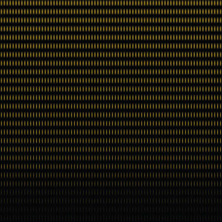 gold halftone pattern in square, design element for web banners, posters, cards, wallpapers, backdrops, panels Black and gold color vector