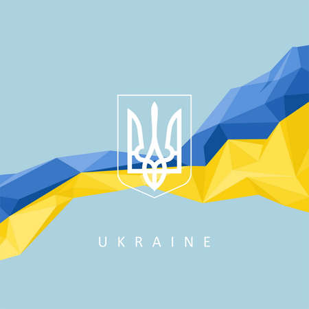 maidan: The national symbol of the Ukraine - abstract background