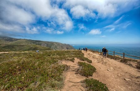 Cabo do Roca, Portugal, westernmost point of mainland Europe