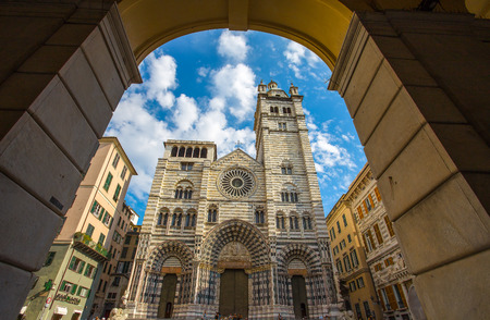 Saint Lawrence cathedral, Genoa, Italy