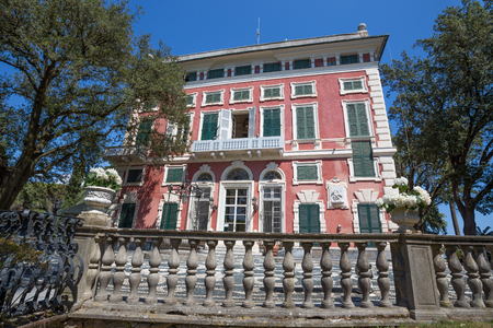 Villa Durazzo-Centurione in Santa Margherita Ligure, Genoa province, ligurian riviera, Italy Standard-Bild - 104986920