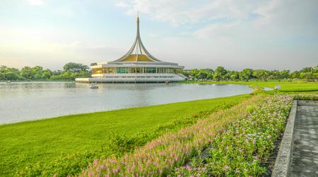 Ratchamangkhala Pavilion in Suan Luang Rama IX Public Park, Bangkok, Thailand, Asia
