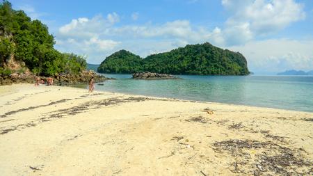 Phak Bia Island, Koh Phak Bia, Krabi, Thailand Banco de Imagens - 106183741