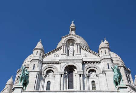 Sacre-Coeur Basilique in Montmartre Paris, France
