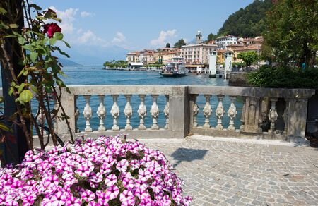 BELLAGIO, ITALY, JUNE 19, 2019 - View of Bellagio, a small village on Como lake, Italy.