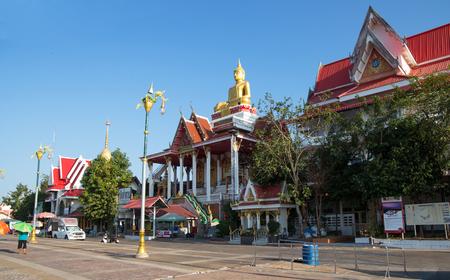 NONG KHAI, THAILAND, JANUARY 27, 2019 - Wat Lamduan, Lamduan Temple in Nong Khai, Thailand