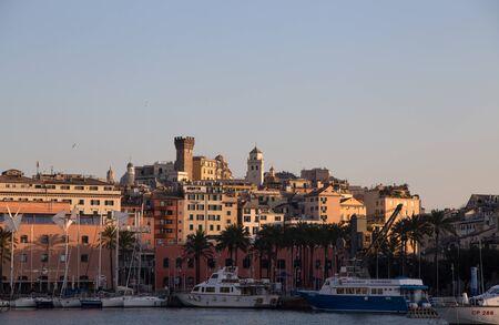 GENOA, ITALY, JANUARY 23, 2020 - View of