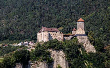 Tyrol Castle near Merano, South Tyrol, Italy Editorial