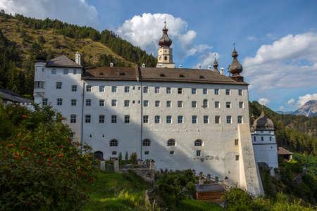The Benedictine Abbey of Monte Maria (Abtei Marienberg), Burgusio, Malles, South Tyrol, Italy,
