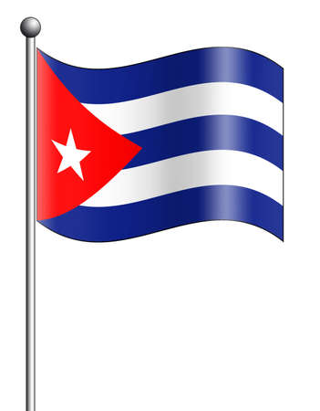 Cuba Flag photo