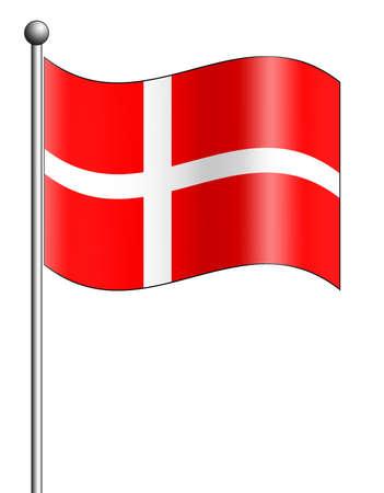 Denmark Flag photo
