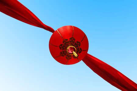 Red lanterns, chinese decoration, Chinatown Stock Photo - 511297