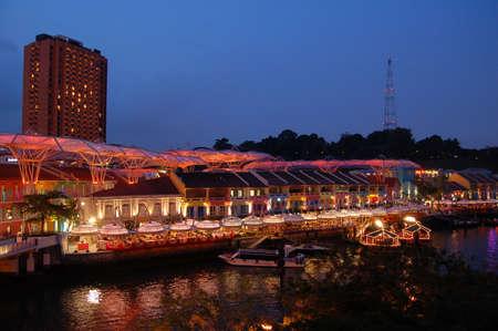 riverside: Riverside Point, Clarke Quay, Singapore
