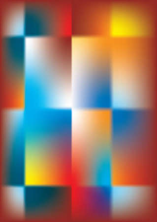 Abstract Background multicolor, cross and square Stock Photo - 532956