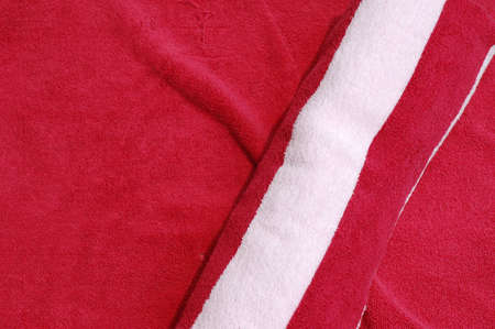 Red and white Towel Background photo