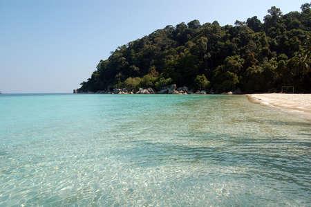 Fantastic blue sea - Perhentian island, Malaysia Stock Photo - 562398