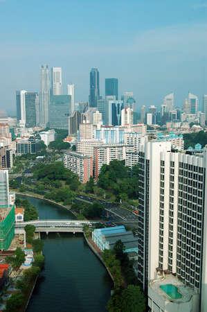 singapore city: Singapore City River View
