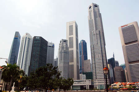 Singapore Central Business District Stock Photo - 611358