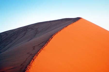 Red dune in the Namib Desert, Sossusvlei, Namibia photo