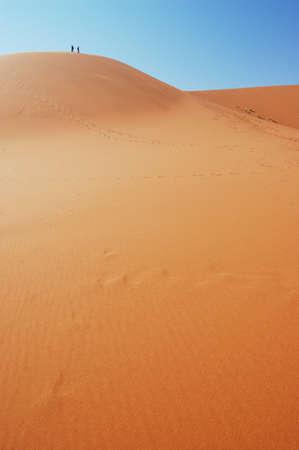 Dune in the Namib Desert, Sossusvlei, Namibia Stock Photo - 1659691