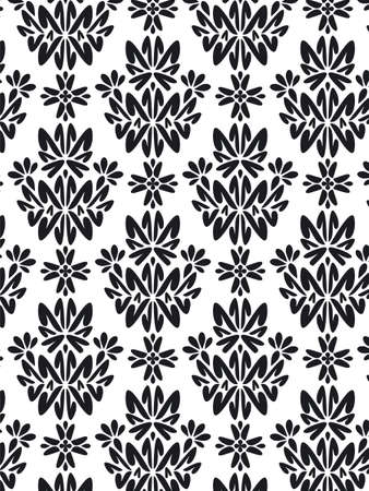 Damask Style Pattern Background - BN texture Stock Photo - 1737612