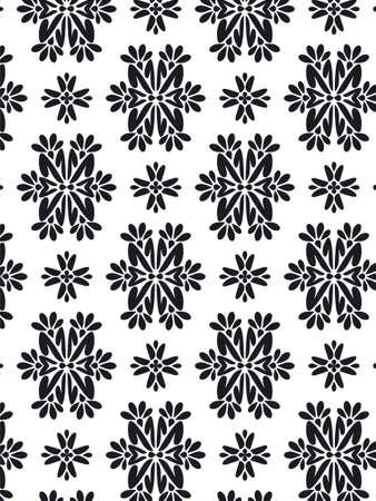 Damask Style Pattern Background - BN texture photo