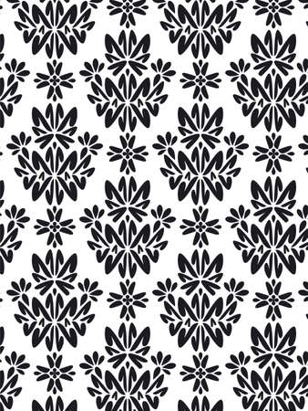 free vector art: Damask Style Pattern Background - BN texture - Vector Include layer whit pattern design source