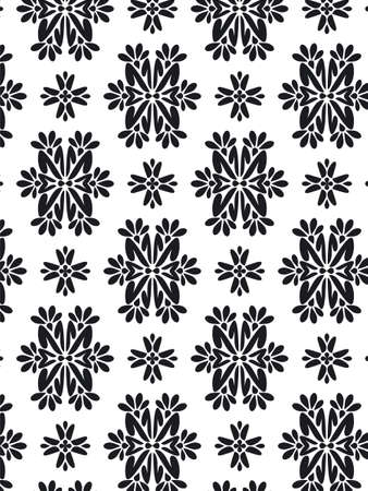 seams: Damask Style Pattern Background - BN texture - Vector Include layer whit pattern design source