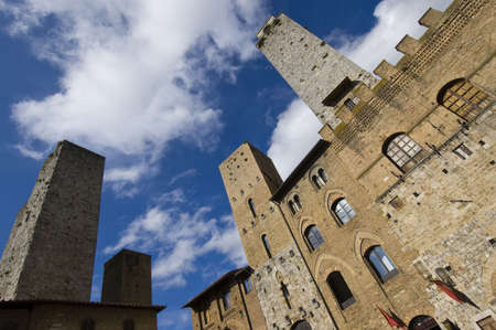 San Gimignano in Tuscany - Italy photo