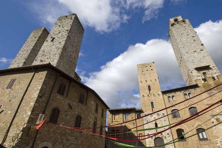 San Gimignano in Tuscany - Italy Stock Photo - 3750625