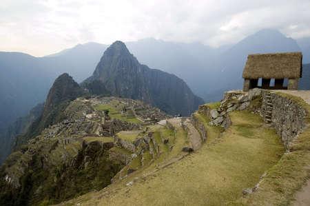 the lost city of the incas: The Lost City of the Incas - Machu Picchu - Best of Peru Stock Photo