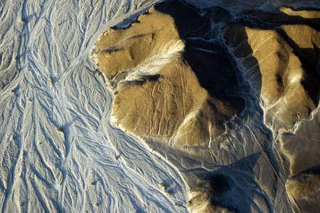Astronaut, Nazca Lines in Peru photo