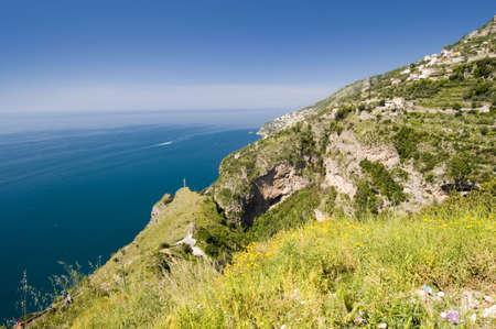 Sea in Amalfi Coast. Naples - Best of Italy photo