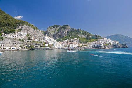 Sea in Amalfi Coast. Naples - Best of Italy