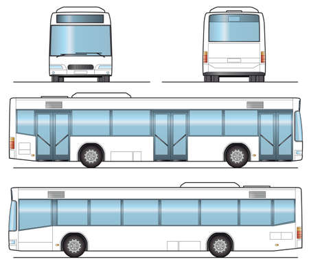 public transfer: Public Bus Template